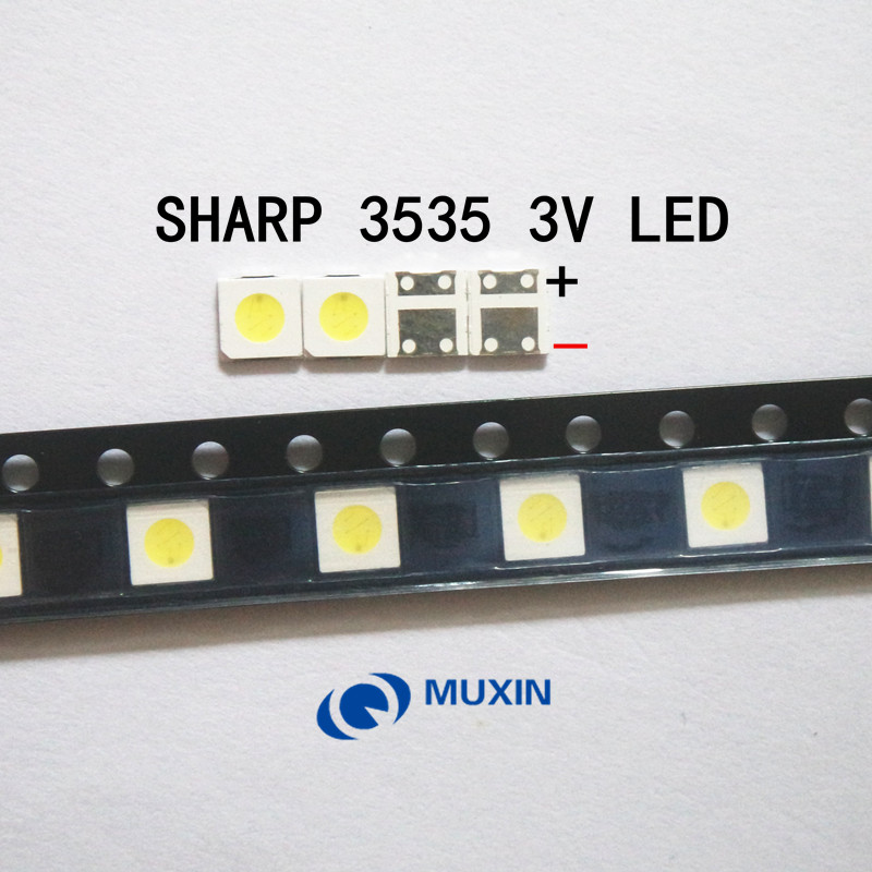 1000pcs For Sharp Led Tv Application Lcd Backlight For Tv Led Backlight 1w 3v 3535 3537 Cool White Gm5f22zh10a Back To Search Resultselectronic Components & Supplies