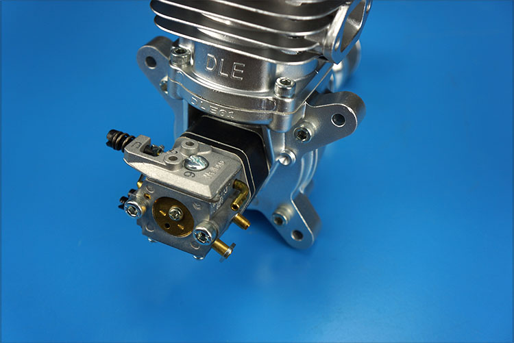 Image 4 - DLE61 Gasoline Engine 61CC, One cylinder, Two stroke, exhaust pipe on the sidetwo strokepipe exhaust  -