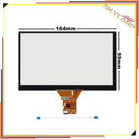 Original 7 Inch 6 Wire 6 Pin Capacitive Touch Screen Panel For Car Navigation DVD Tablet