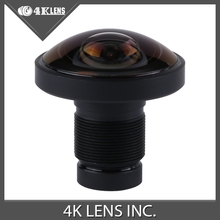 4K LENS 1.2MM Fisheye Lens 220Degree IR 1/2.3 Inch 16MP M12 Mount for 360 VR Gopro Camera Free Shipping Hot