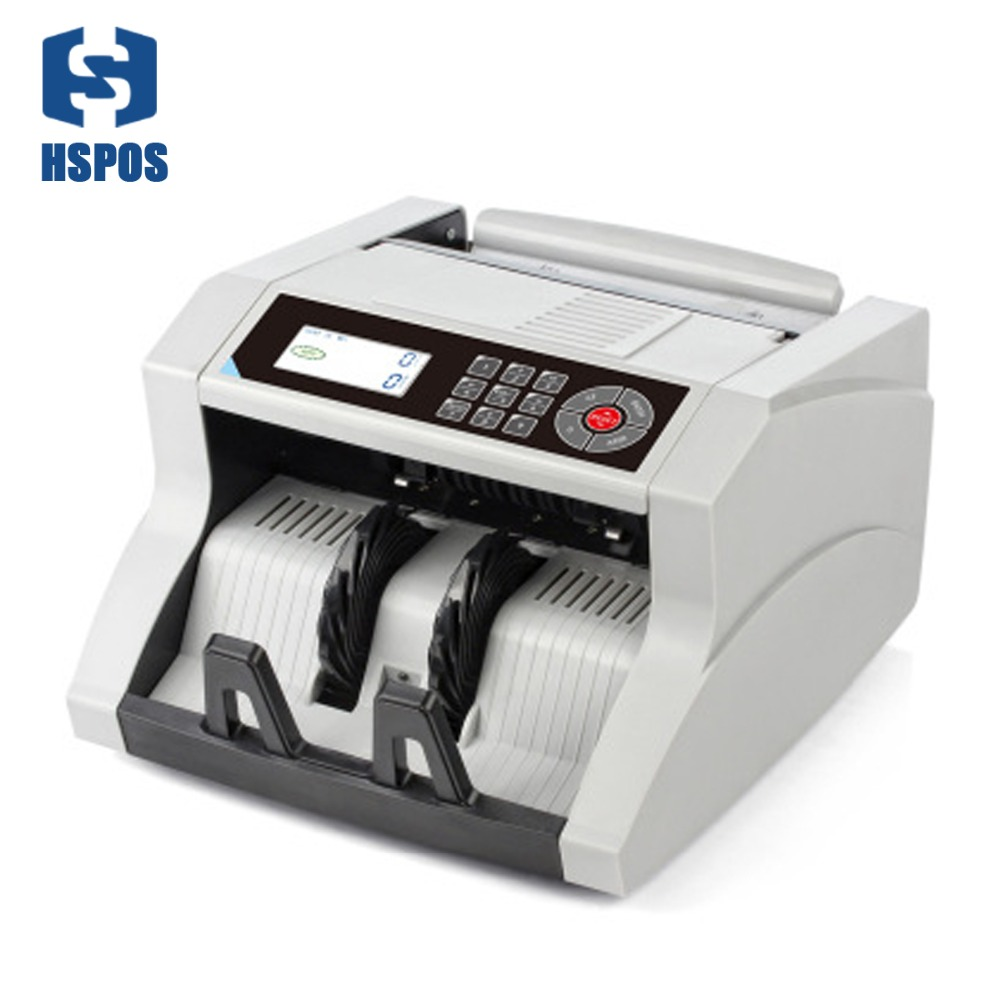 1100 piezas/min contadora de velocidad de dinero máquina DMS-1480T pantalla LCD Fondo cambio de color función