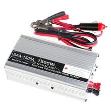 Новый 3000 Вт Пик DC12V в ПЕРЕМЕННОЕ 230 В Солнечный Инвертор Преобразователь USB Выход Stabl-Y103