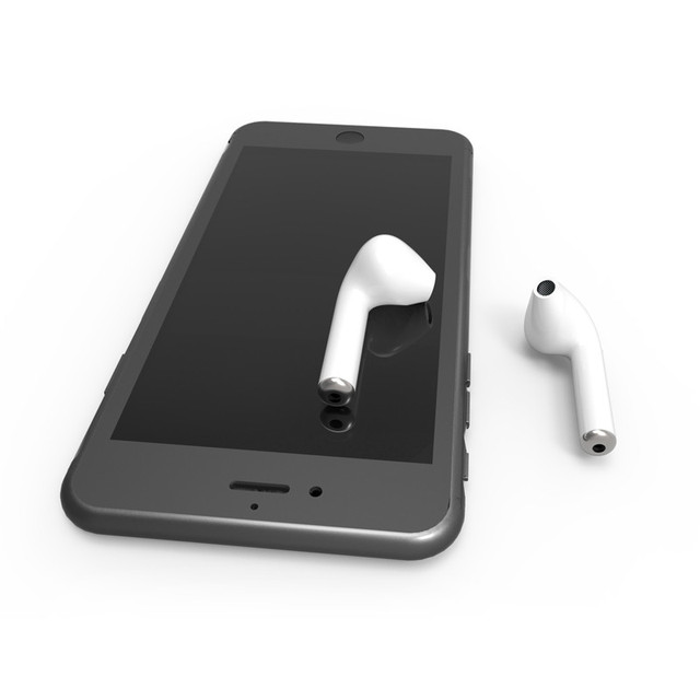 HESTIA Bluetooth Earphone Wireless Earphones I7 Invisible Headphones For Phone Bluetooth Earbuds Headset With Mic Stereo