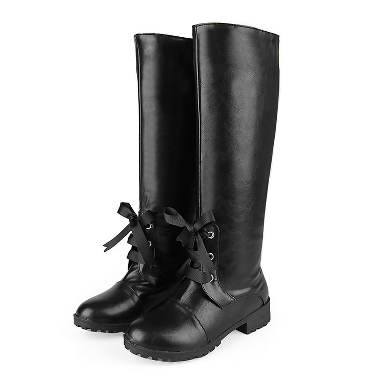 ФОТО 2017 New Big Size 34-43 Brand Design Patch Color Knee High Boots Thick Sole Platform Slim Long Winter Autumn Camouflage 4285