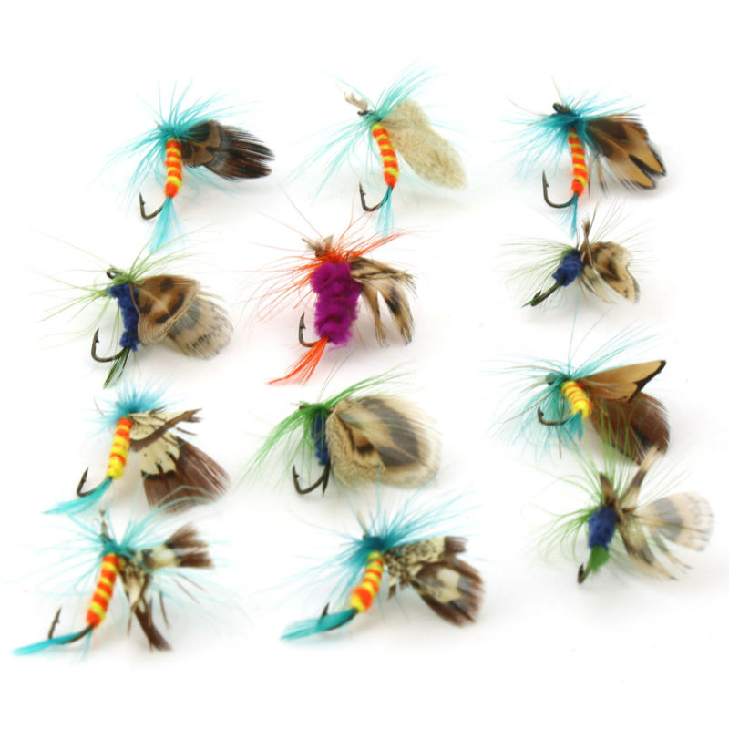 12pcs/Lot Fly Fishing Lure Wobbler For Fishing Lures Pesca Isca Artificial Fish Baits Hook Squid Jigs Spinner Bait Soft Lure fish like 30pcs lot fishing soft lure pesca simulate artificial lures kit bait with hooks mix colors