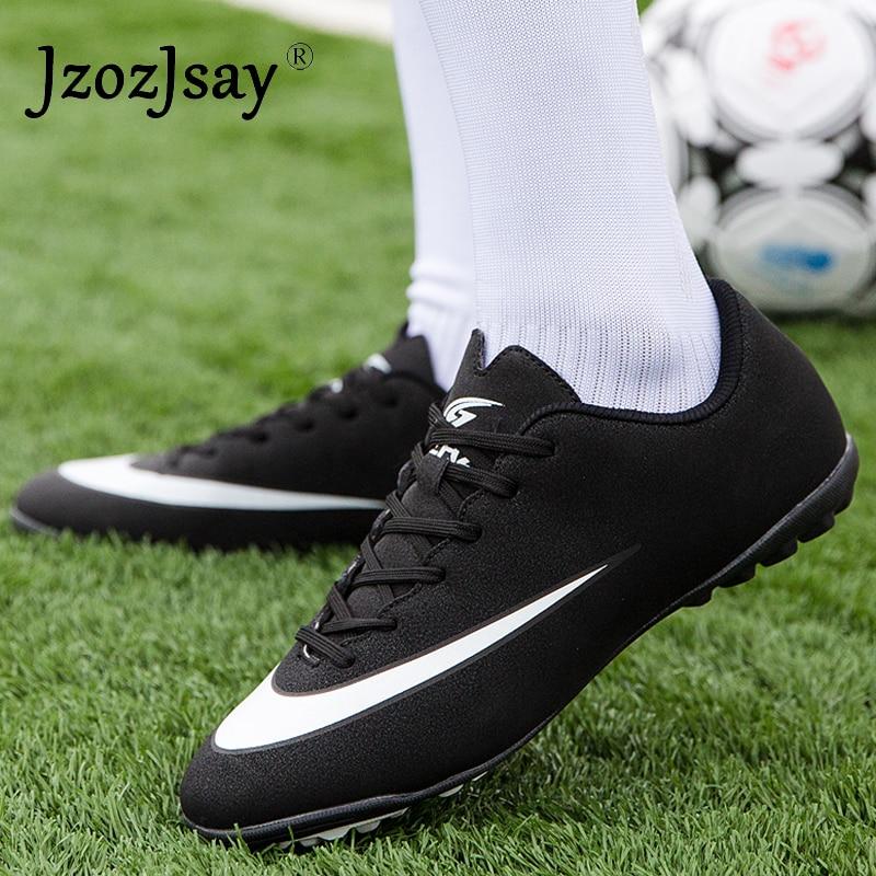 ba8e52f7 2019 новые спортивные ботинки мужские Футбол Для мужчин высокое качество детские  футбольные бутсы, кроссовки Дешевые
