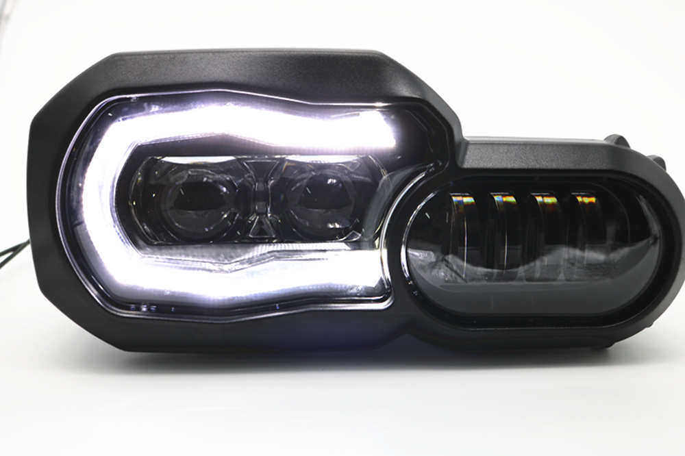 LED Phare Projecteur pour BMW F800GS F800R F800GS F700GS F650GS
