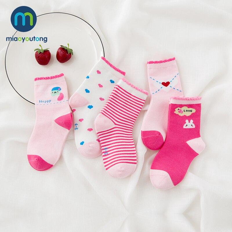 10 pieces/lot Unisex Skarpetki Newborn Sock Kids Boy Pink Rabbit Knit Cotton Soft Baby Socks Lovely Girl Children's Miaoyoutong 3