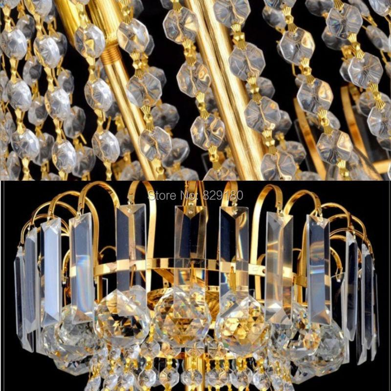 თანამედროვე ოქროს LED - შიდა განათება - ფოტო 2