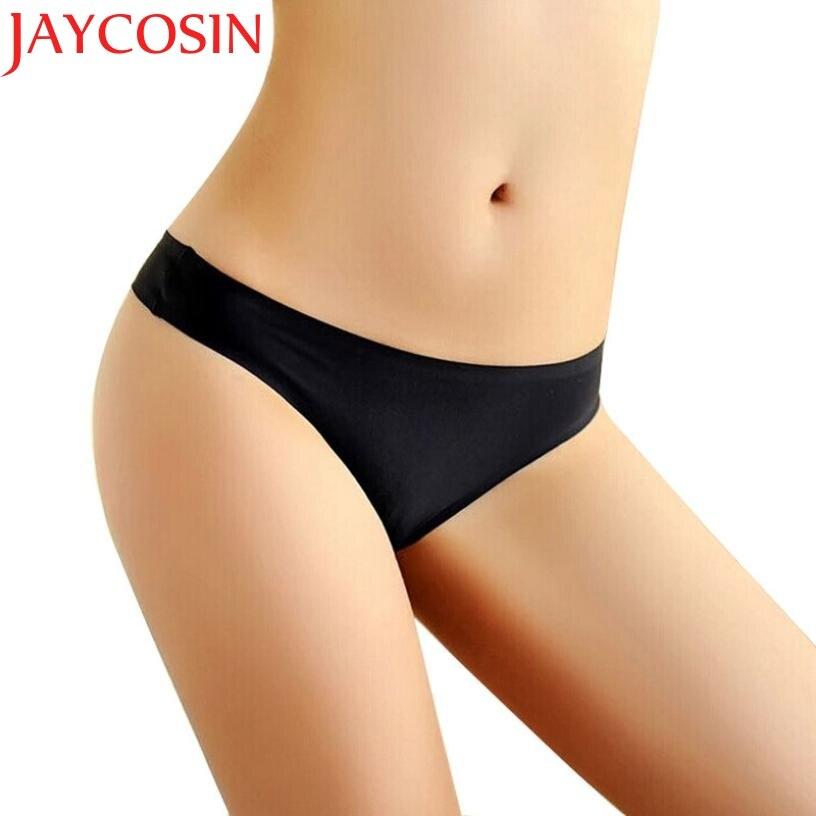 143ee1326ff4 JAYCOSIN mujeres Invisible Sexy ropa interior Tanga de Gas sin cintura baja  bragas entrepierna ropa de envío de la gota
