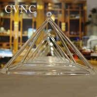 "CVNC のセット 3 個 5 ""9"" 12 ""チャクラクリアクリスタル歌うピラミッド"