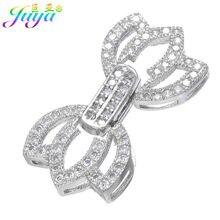 f4225d5df339 Cuentas DIY broches de la joyería de las mujeres pulseras de perlas  collares hacer Material conclusiones de lujo cobre conector .