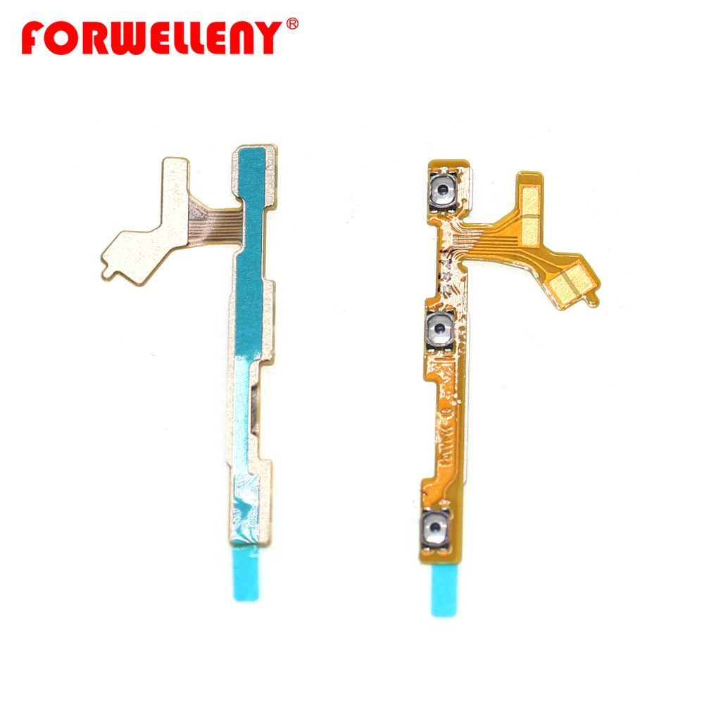 For Huawei P Smart (2019)/honor 10 Lite Power Switch On/Off Button Volume Key Button Flex Cable POT-LX2J POT-LX3 POT-LX1