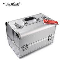 Miss Rose Makeup Box Gezicht Poeder Oogschaduw Blush Concealer Palet Nagellak Lippenstift Lipgloss eyeliner Make Up Set Kit