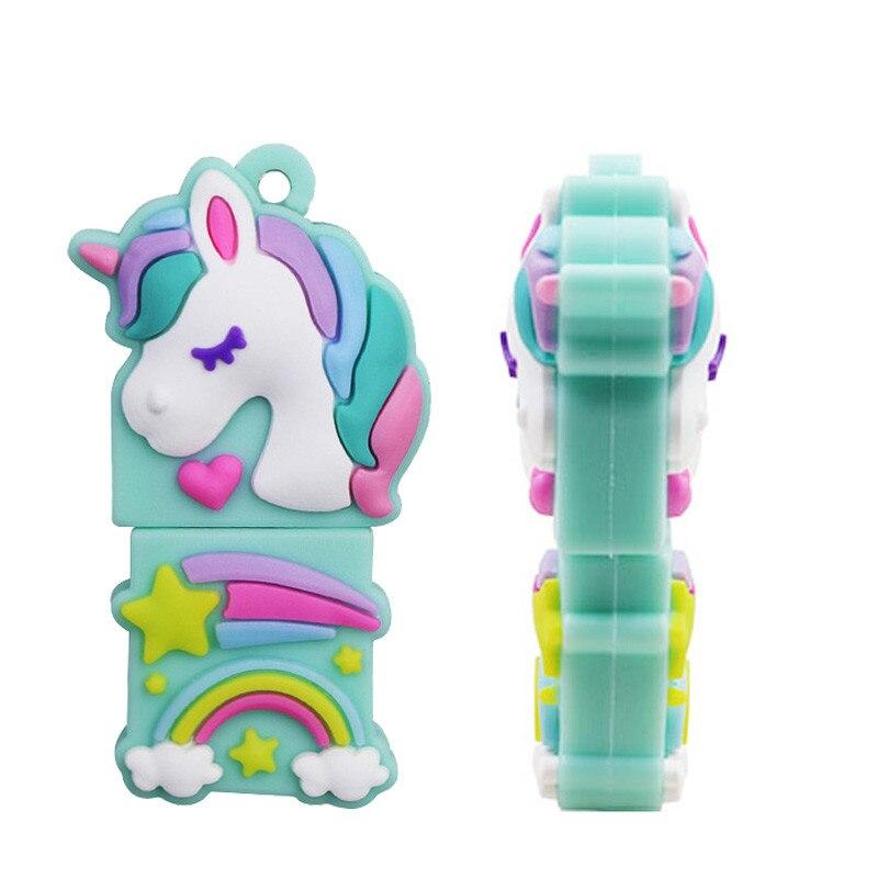 Cartoon Unicorn Pen Drive 64gb 32gb Usb Flash Drive Cute Horse Pendrive Real Capacity 4g 8g 16gb Ice Cream Memory Stick Gifts
