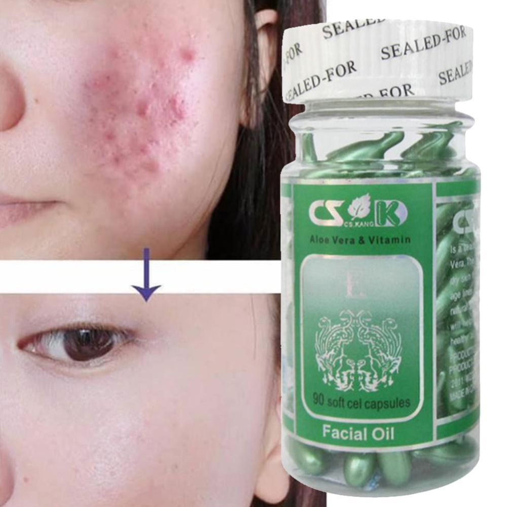 super quality release info on reliable quality US $3.18 45% OFF|Vitamin E Skin Care Acne Pimples Essence Avocado Ooil  Protein Hormone Pearl Powder Balance Sebum Secretion Capsule Dropshiping-in  ...