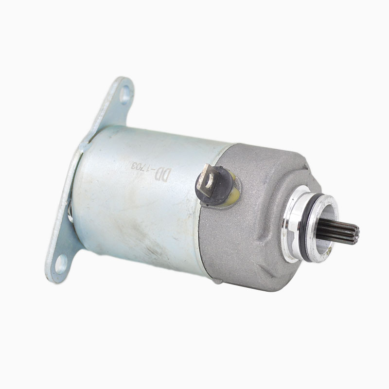 Motorcycle Engine Electric Starter Motor 10 Teeth for GY6-80 139QMA 139QMB Dirt Pit Bike ...