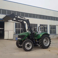 Hot Sell 100 HP 4 Wheel Tractor With Front Bucket Backhoe Loader