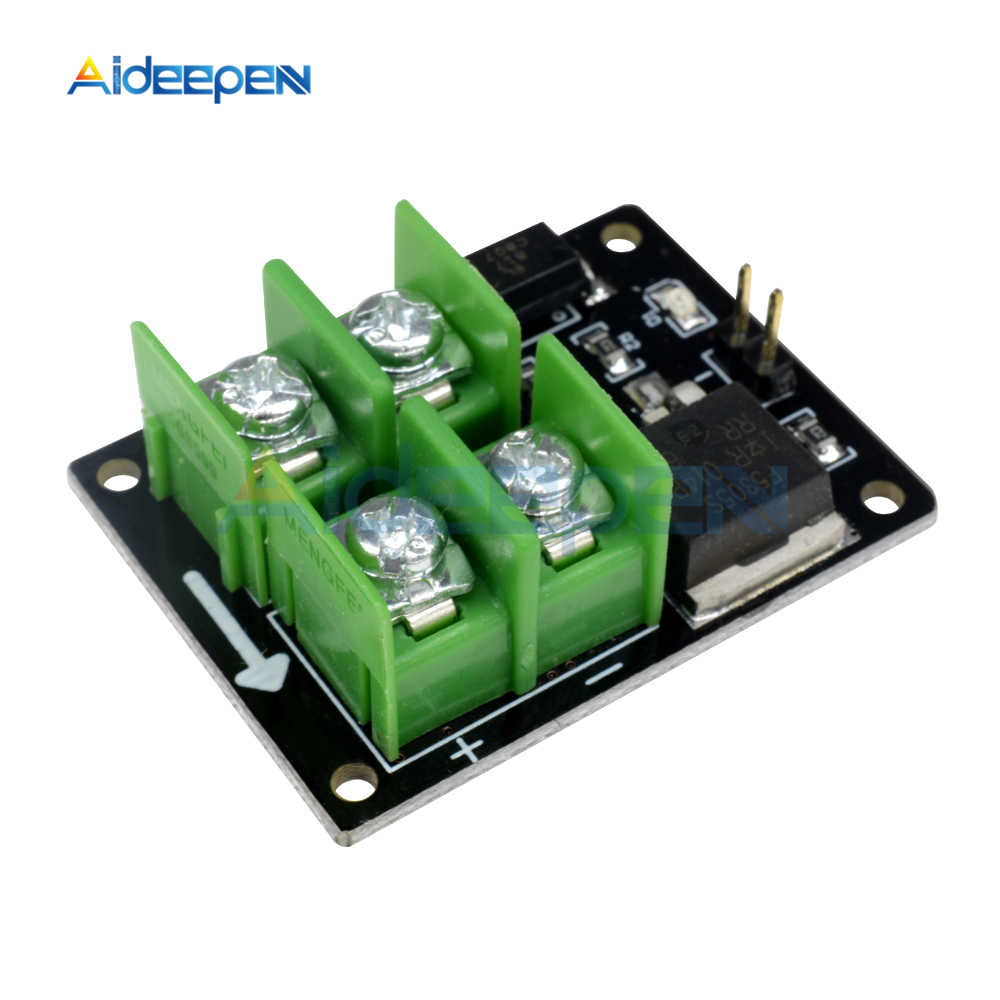 3V 5V Low Control High Voltage 12V 24V 36V Switch Mosfet Module For Arduino  Connect IO MCU PWM Control Motor Speed Current 22A