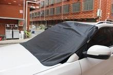 Pare soleil pour voiture noir 1 pièce, bloc 150x120cm, couverture du pare brise arrière, pare soleil, 19Y15