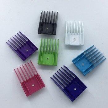 Darmowa wysyłka 4 sztuk/zestaw obcinarka pazurów dla zwierząt ostrze załącznik przewodnik grzebień standardowy rozmiar pasuje do Oster A5 Blade