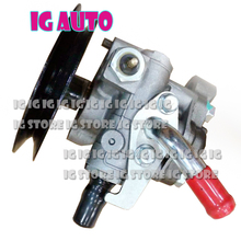 New Power Steering Pump For Mitsubishi L200 2.5 / Pajero I 3.0 v6 1986-1996 MB501385 W/Sensor pajero power steering pump