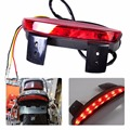 Motorcycle Red LED Rear Brake Tail Light Chopped Fender Edge fit for Harley Sportster XL 883 1200 Seventy Two XL1200V Iron 883