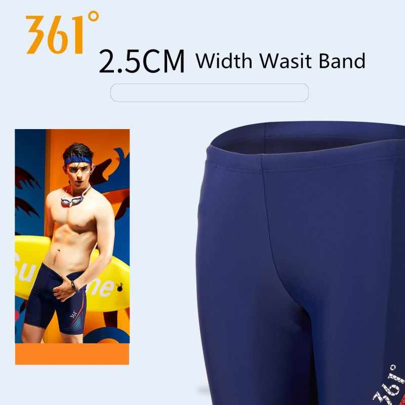 c5ffeb9a33 ... 361 Men Tight Swim Shorts M-3XL Professional Quick Dry Swimming Trunk  for Men 2019 ...
