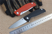 Folding knife tactical knives camping tool D2 blade G10 handle EDC pocket knives high quality free shipping