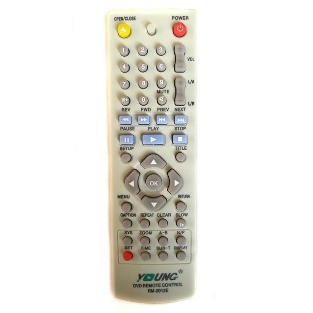Brand New Genuine For LG Universal RM 2012E Home Theater DVD Remote Control AKB73095401 AKB72373701 AKB72956201