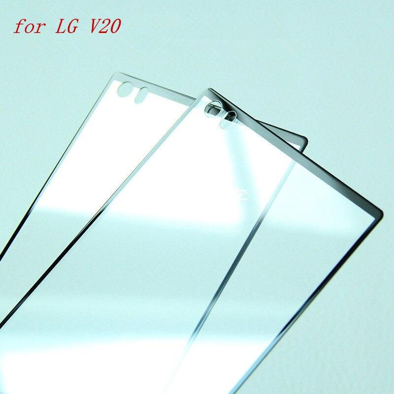 La sFor LG V20 de templado de vidrio de la sFor LG V20 de QAZ Maggie La pegamento Protector de pantalla para LG V20/G7 thinQ protectora de vidrio