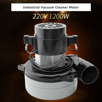 1pcs 1200W Industrial Vacuum Cleaner Motor for Electrolux Vac CV2 E130 E130A ER126