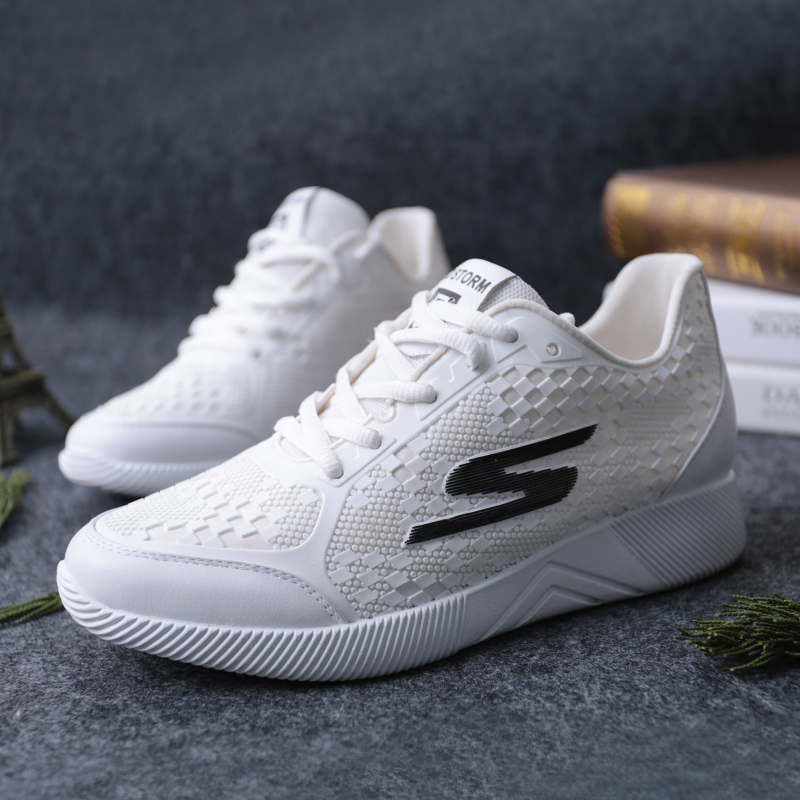 SHUANGFENG Brand White Wedges Platform Sneakers Women Shoes 2018 - Zapatos de mujer - foto 3