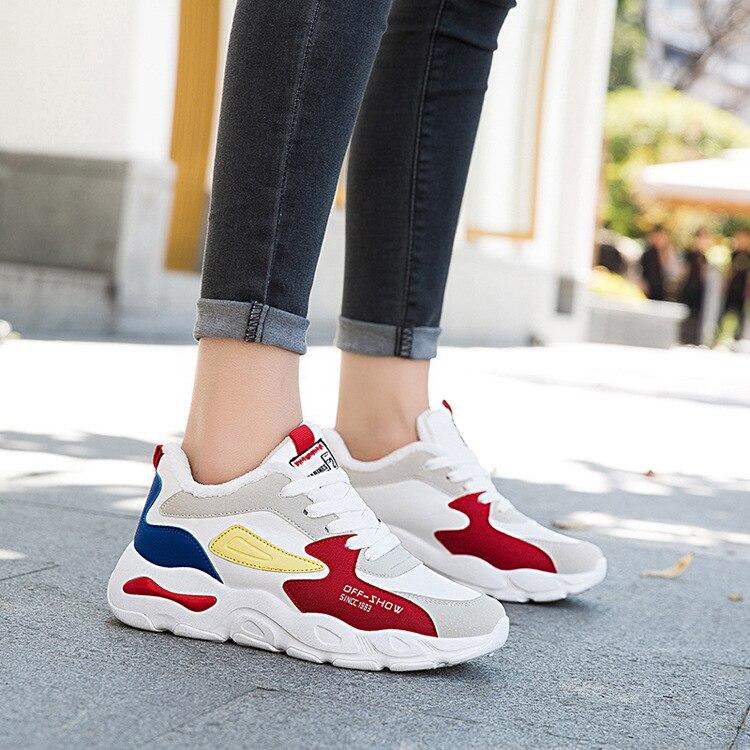aed72f7d997a Zapatillas Para Nuevos Moda Mujer Zapatos Con Terciopelo Casuales ...