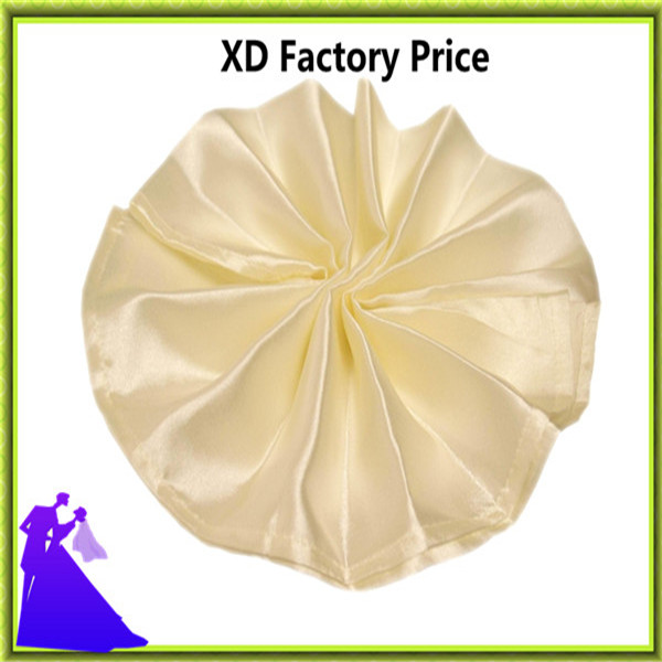 Table napkin banquet satin for event free shipping