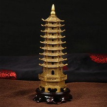 The Petite Brass Pagoda - 7 Feng Shui enhancer for protection and wealth luck