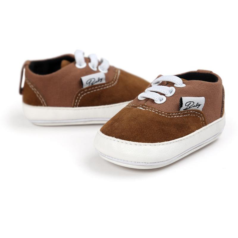 Wiosna Jesień Dziecko Noworodka Dziewczynka Chłopiec Miękkie Podeszwy antypoślizgowe Maluch Prewalker Niemowląt Sneaker Buty Na Co Dzień 12