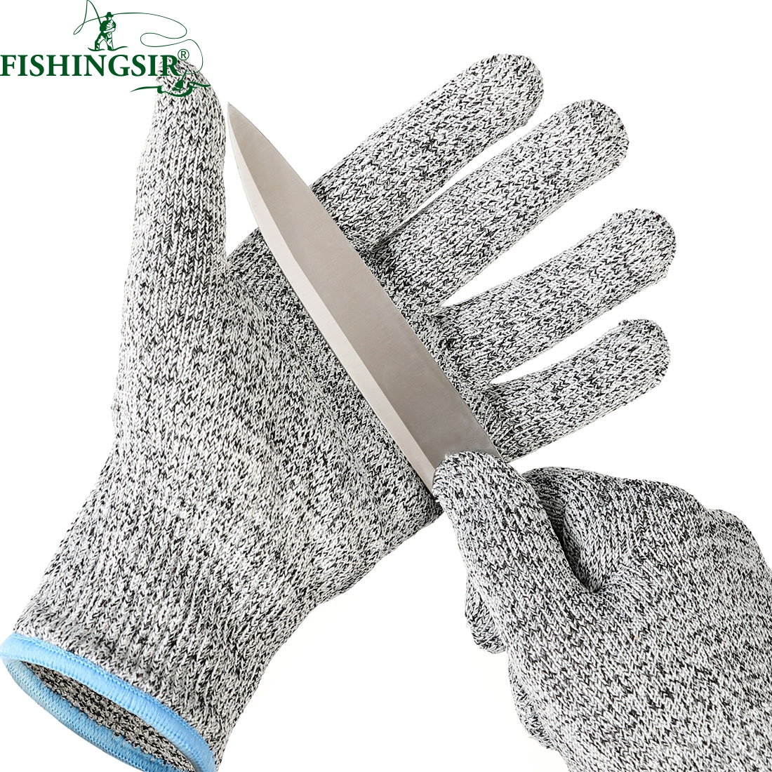 Hunting Fishing Camping Cut Resistant Gloves Winter Soft Anti slip Gloves Cut Proof Safety Garden Kitchen