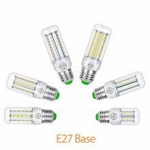 E14 LED Corn Bulb E27 Candle Led Lamp 5730 Ampoule GU10 220V Light 24 36 48 56 69 72led Bombillas Home Lighting
