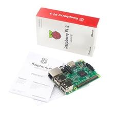 Горячая Малина Pi3 модели B 1 ГБ LPDDR2 BCM2837 64-бит quad-core 1.2 ГГц с Wi-Fi и Bluetooth Raspberry Pi 3 ИРЦ 3 Бесплатная доставка