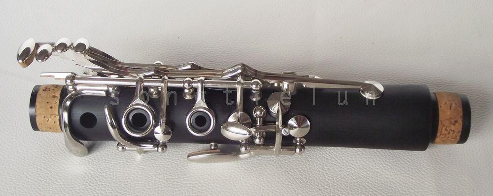 Professional clé clarinette New C ébonite bon matériel et son