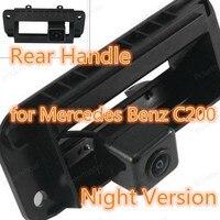 Polarlander 100% New for Me-rce-des-Ben-z C200 Night Version Rear Handle Rear View Camera Waterproof