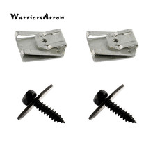 WarriorsArrow защита картера клипсы с гайками и винты для листового металла для Mercedes Benz W124 W125 A0019906036 0019949845