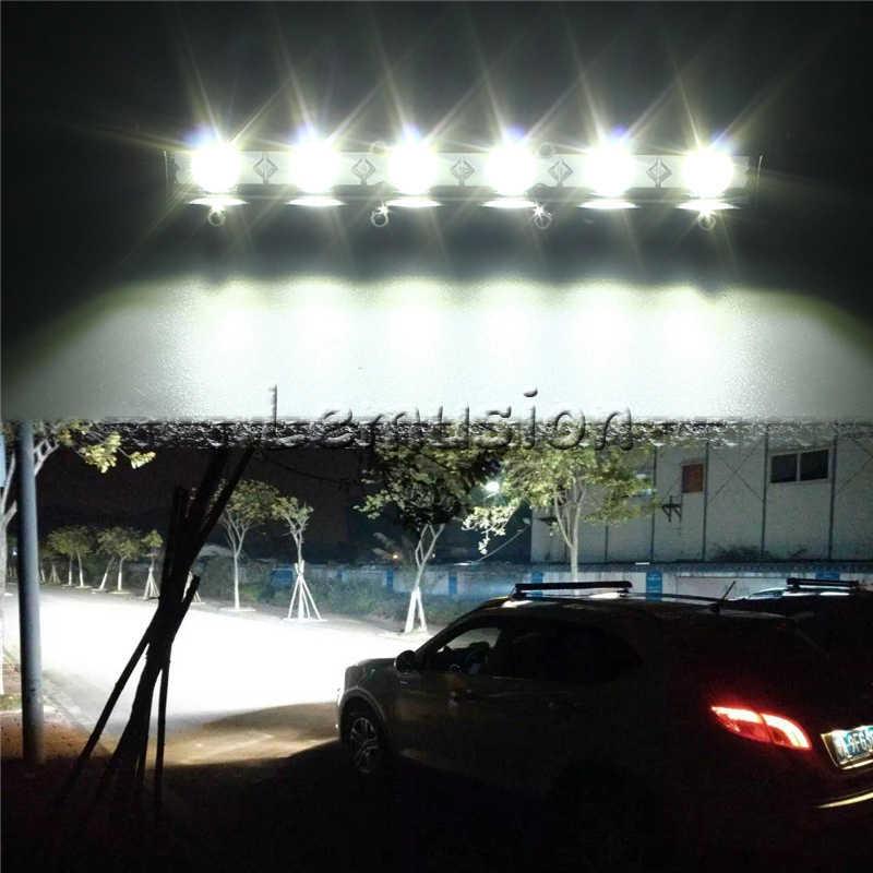 1x Авто двухрядный светодиодный свет бар 18 36 54 Вт 12В противотуманная фара для peugeot 2008 4008 6008 Citroen C3-XR C4 Aircross точечной сварки аксессуары