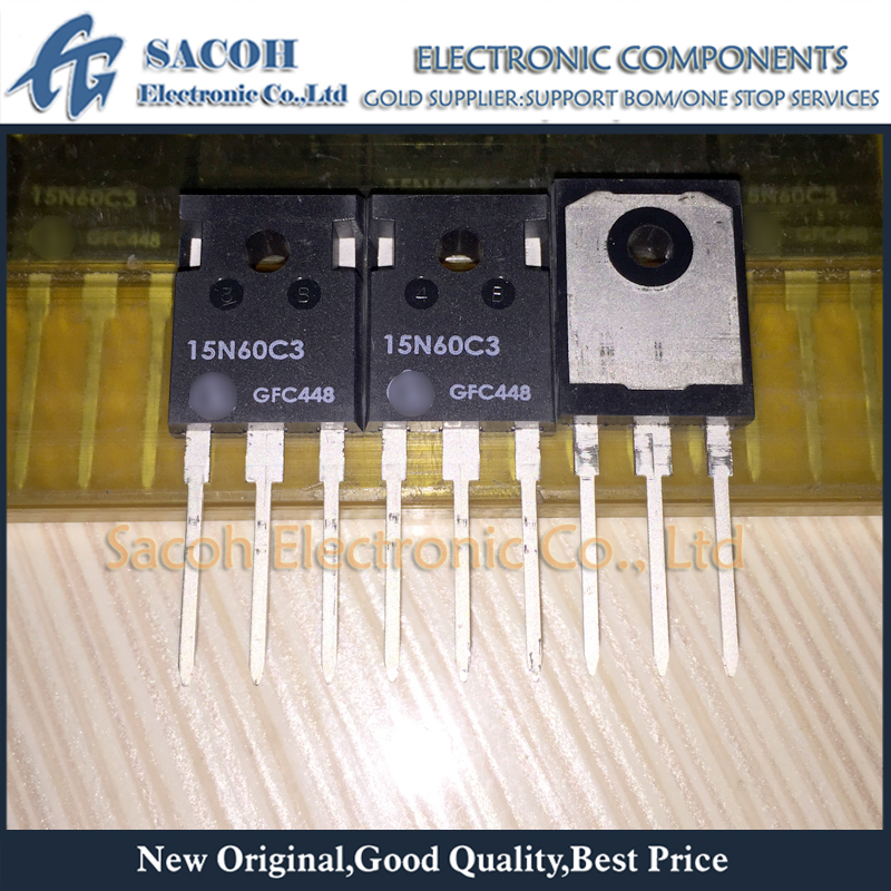 5 PCS SPP15N60C3 15N60C3 Cool MOS Power Transistor TO-220 New