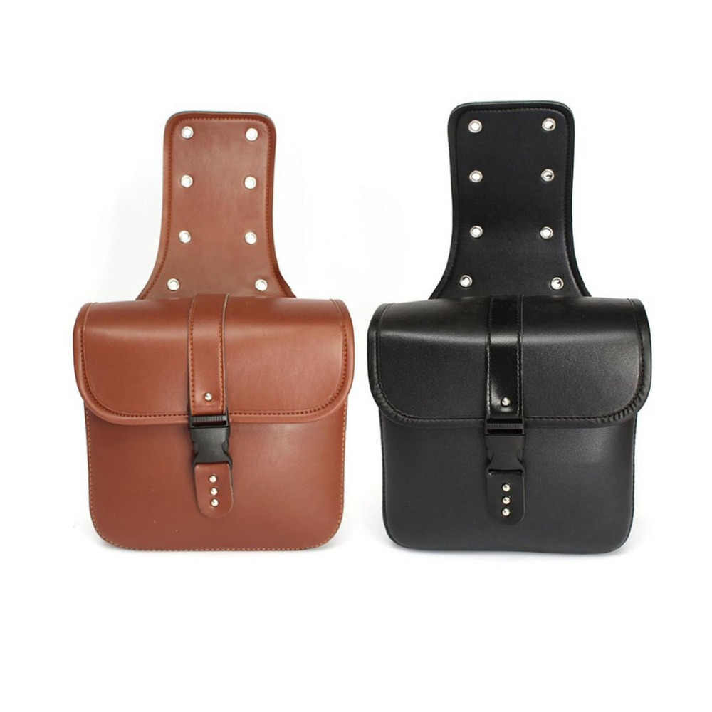 2Pcs Motorcycle Hanging Bag Saddle Bag Motorcycle Side Riding Travelling Bag Waterproof Rider Bag Tail Hanging Box Car-styling