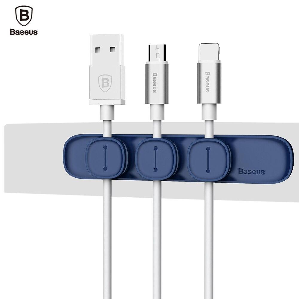 Baseus Durable Magnetic Clip USB Organizer Klemm Desktop Workstation ...