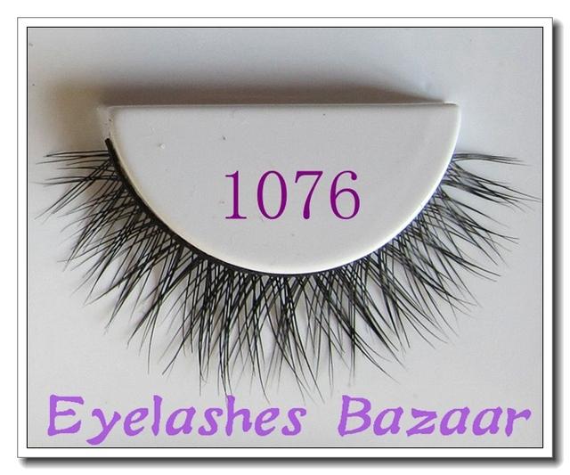 O envio gratuito de boa qualidade 1076 1 pçs/lote 100% real cílios pele de vison