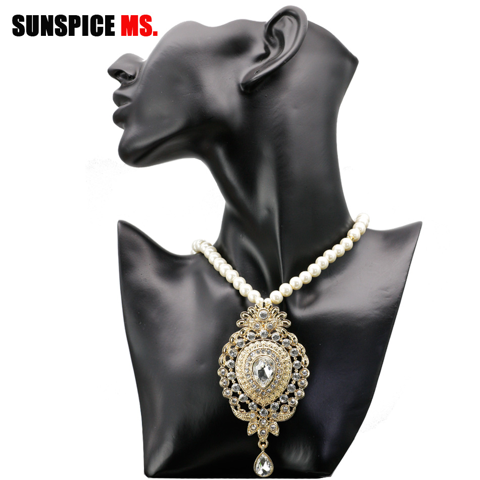 Hot Women Horns Style Dangle Clavicle Chain Necklace BOHO Pendant Alloy Jewelry