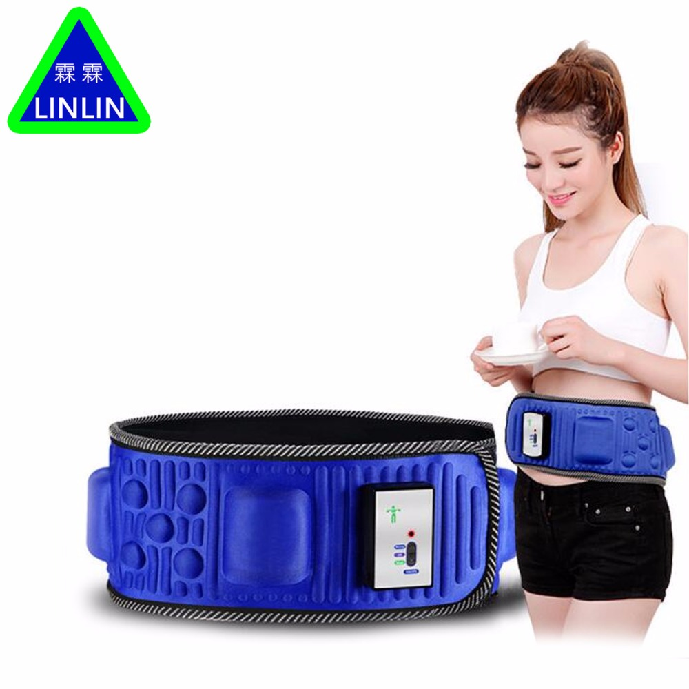 Electric Fitness Vibrating 5 motors massager slimming belt vibration massage fat burning weight losing effective платье lucky move lucky move mp002xw0e1zw